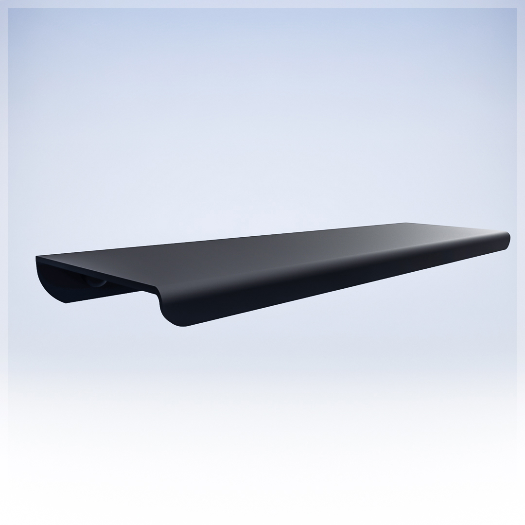 Bathroom Shelf - matt black - Bathroom Accessories